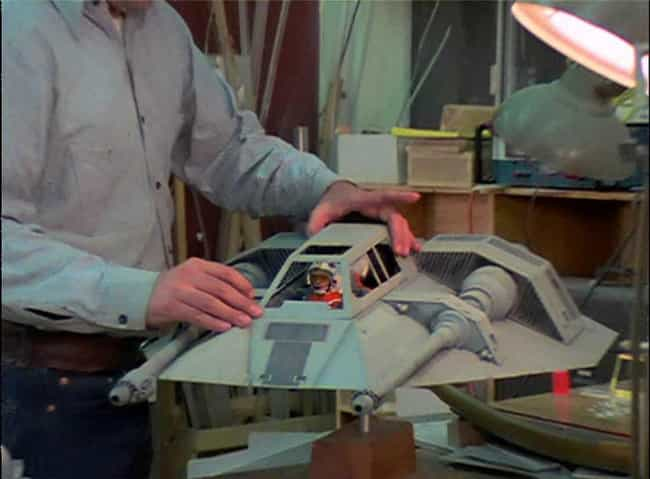 Fighter Pilot Models Inside a ... is listed (or ranked) 3 on the list Behind the Scenes Photos of Star Wars Vehicle and Ships