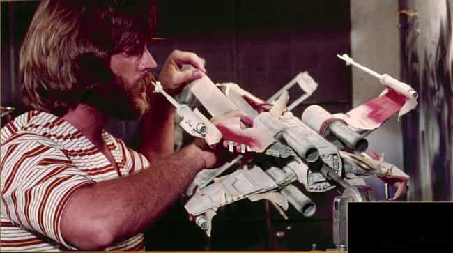 X-Wing Fighter in the Industri... is listed (or ranked) 4 on the list Behind the Scenes Photos of Star Wars Vehicle and Ships