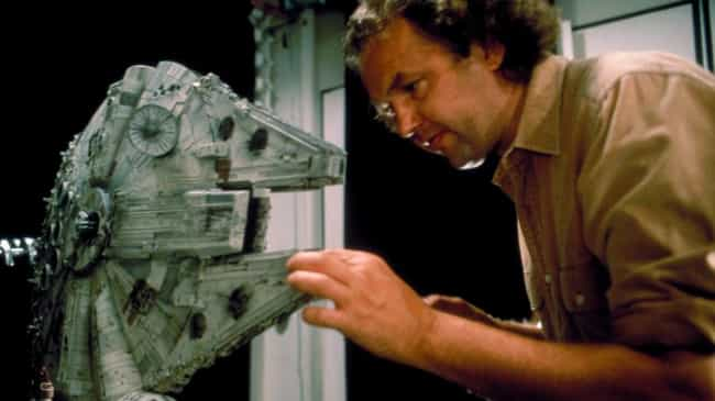 Millenium Falcon Model Nearing... is listed (or ranked) 6 on the list Behind the Scenes Photos of Star Wars Vehicle and Ships