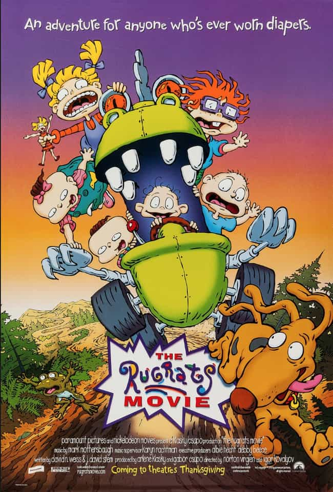 The Rugrats Movie Was the Firs... is listed (or ranked) 1 on the list 20 Things You Didn't Know About Rugrats