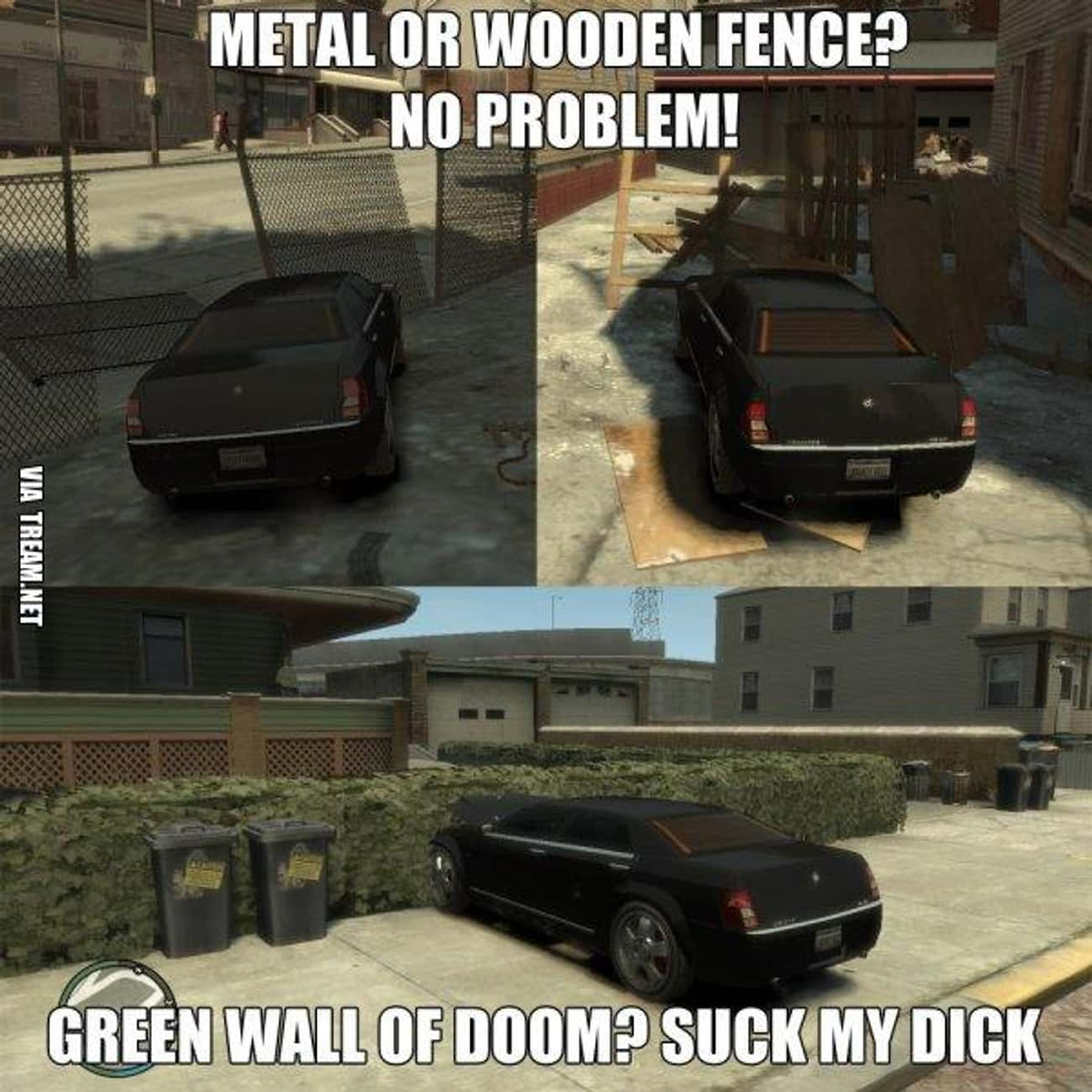 Bush Logic is listed (or ranked) 4 on the list The 20 Funniest Examples of Grand Theft Auto Logic