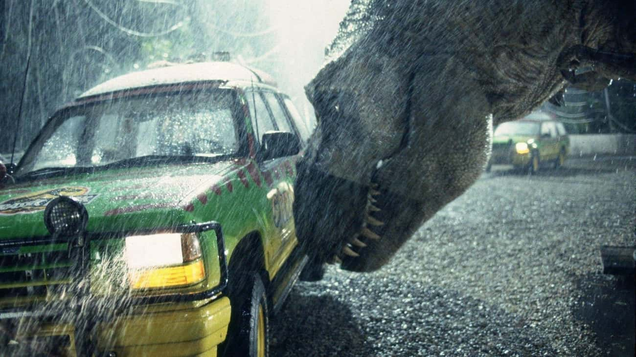 The T. Rex Occasionally Turned is listed (or ranked) 1 on the list 20 Things You Didn't Know About the Jurassic Park Franchise