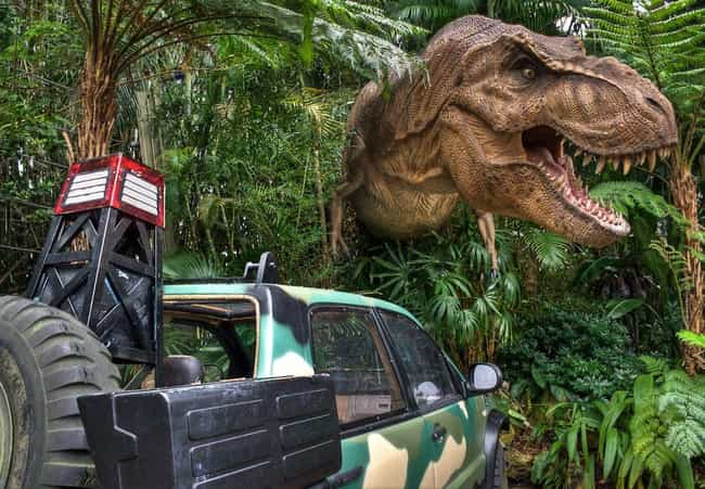 The T. Rex Occasionally Turned... is listed (or ranked) 1 on the list 50 Things You Didn't Know About the Jurassic Park Franchise