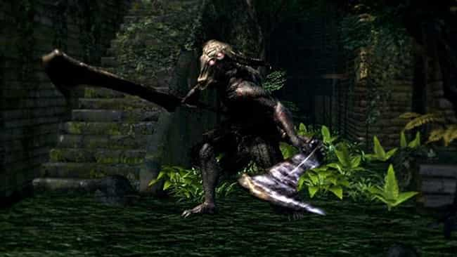 Capra Demon is listed (or ranked) 3 on the list The Hardest Dark Souls Bosses to Defeat
