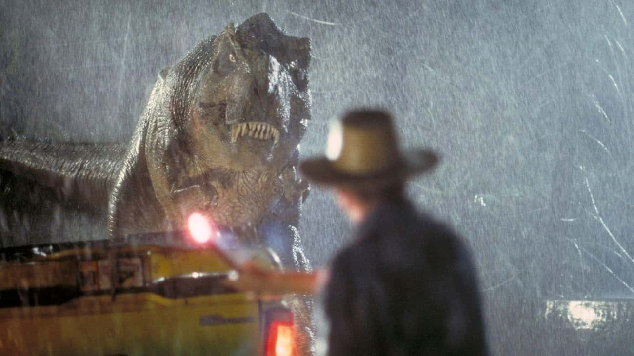 The T. Rex Animatronic Was Inc is listed (or ranked) 2 on the list 20 Things You Didn't Know About the Jurassic Park Franchise