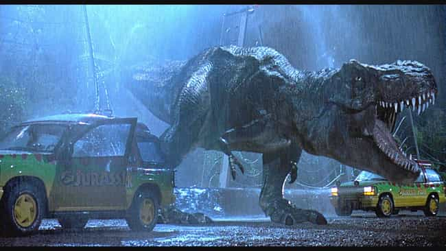 The T. Rex Animatronic Was Inc... is listed (or ranked) 2 on the list 50 Things You Didn't Know About the Jurassic Park Franchise