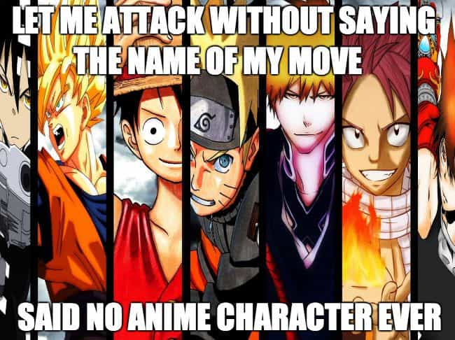 It's Not Even An Option is listed (or ranked) 2 on the list The Best Anime Memes on the Internet