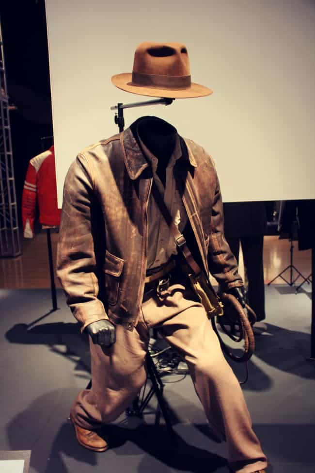 The Indiana Jones Outfit Is Mu... is listed (or ranked) 2 on the list 47 Things You Might Not Know About the Indiana Jones Movies