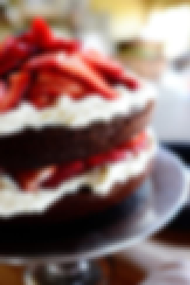 Chocolate Strawberry Nutella C... is listed (or ranked) 1 on the list The 30 Best Strawberry Cake Recipes on the Internet