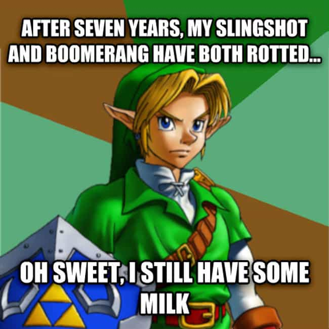 It Does The Body Good is listed (or ranked) 1 on the list The Best 'Zelda' Memes on the Internet
