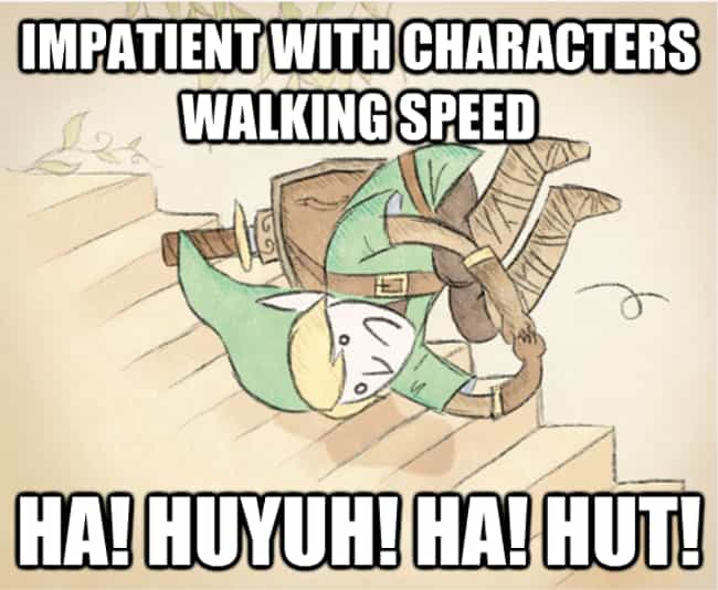 You Be Rolling is listed (or ranked) 3 on the list The Best 'Zelda' Memes on the Internet