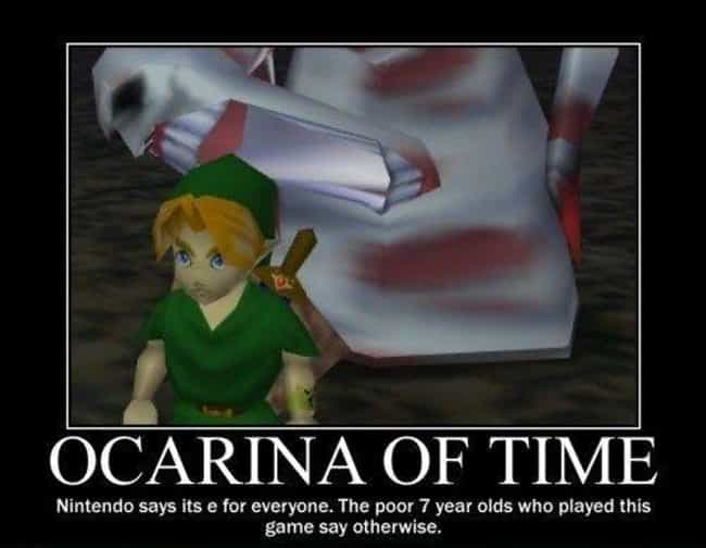 Nightmare Fuel is listed (or ranked) 2 on the list The Best 'Zelda' Memes on the Internet