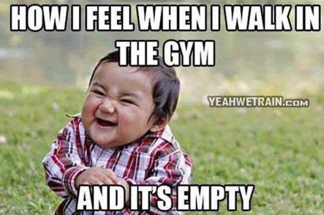 Running on Empty is listed (or ranked) 2 on the list Workout Memes All Gym-Goers Will Totally Get
