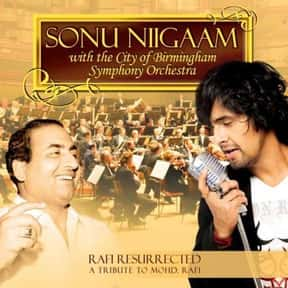 Rafi Resurrected is listed (or ranked) 10 on the list The Best Sonu Nigam Albums of All Time