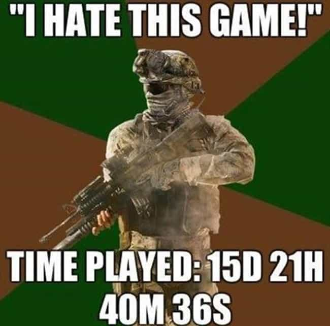 You gotta love it is listed (or ranked) 3 on the list The Best Call of Duty Memes