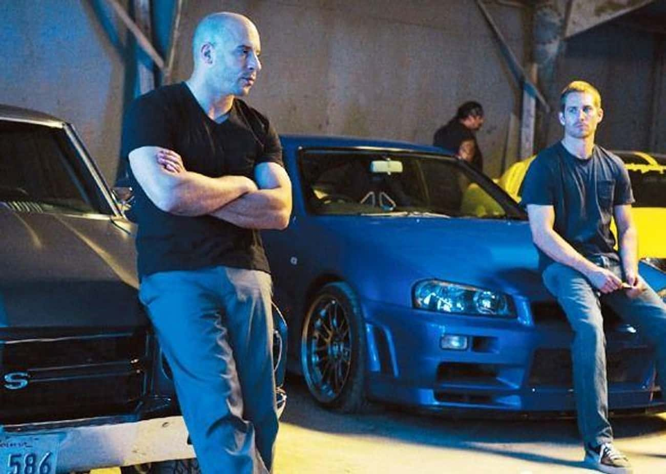 Brian O'Conner Really Loves His Nissan Skylines