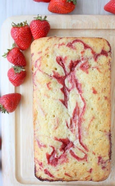 Image of Random Best Strawberry Cake Recipes on the Internet