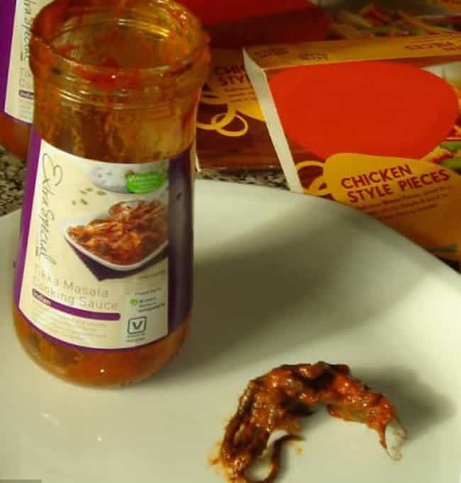 The Mouse in the Tikka M... is listed (or ranked) 4 on the list The Grossest Things Ever Found in Packaged Foods