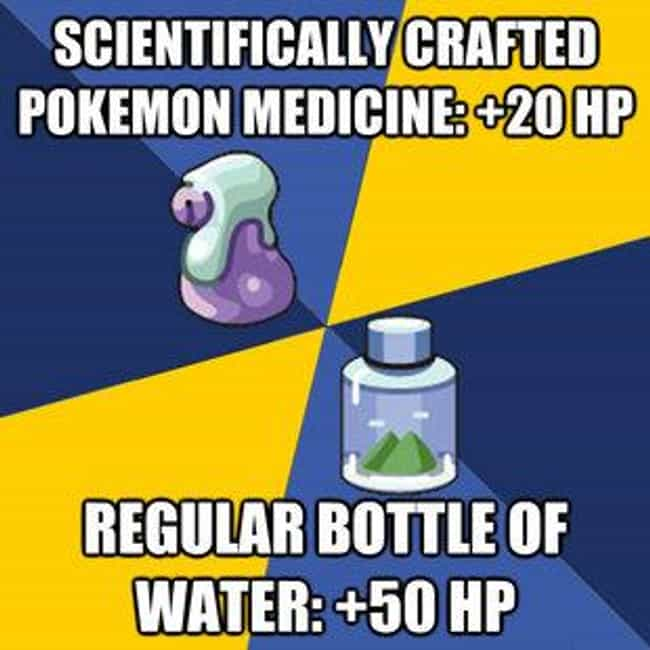 element of life points is listed (or ranked) 3 on the list The Best Pokemon Memes of All Time