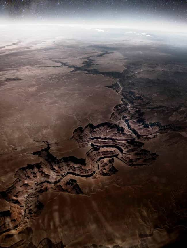 Hey Grand Canyon, You Look Dif... is listed (or ranked) 1 on the list 45 Amazing Aerial Photographs That Will Make You Feel Small