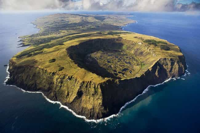 Even Volcanoes Look Prettier f... is listed (or ranked) 3 on the list 45 Amazing Aerial Photographs That Will Make You Feel Small