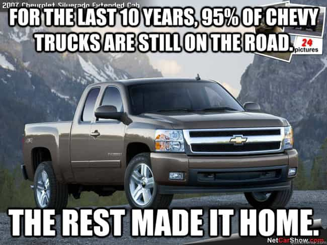 Chevy Quotes Cool The Best Antichevy Memes  Funniest Chevy Jokes