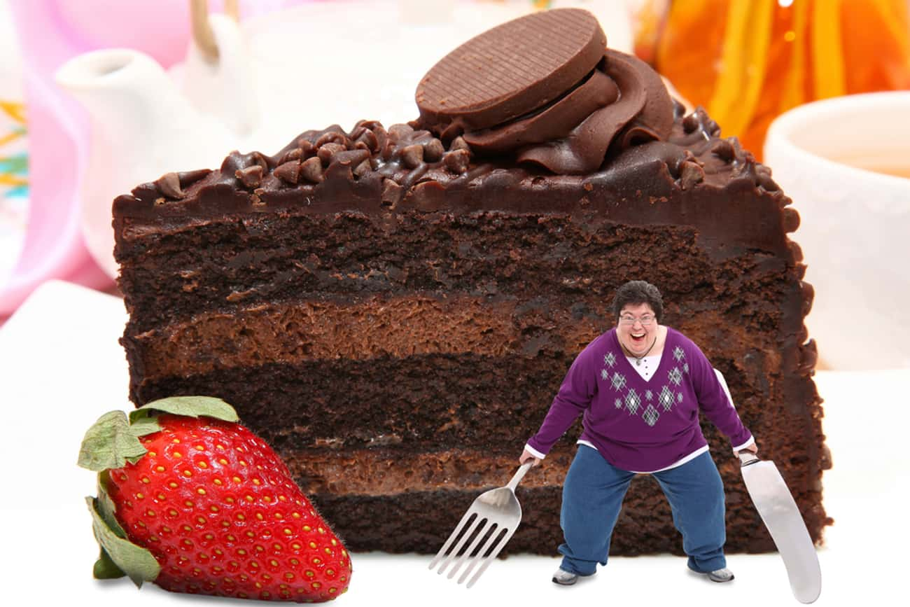 Woman Ready To Tackle Giant Ca is listed (or ranked) 2 on the list The Most Offensively Over-the-Top Stock Images of Fat People