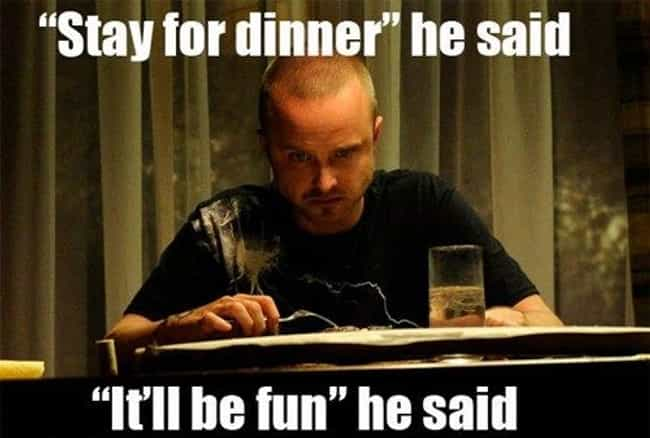 It ain't fun without cookin' a... is listed (or ranked) 4 on the list The Best Breaking Bad Memes