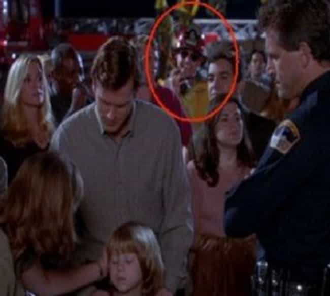 Fire Marshall Bill Makes an Ap... is listed (or ranked) 4 on the list Hidden Easter Eggs from Your Favorite 90s Movies
