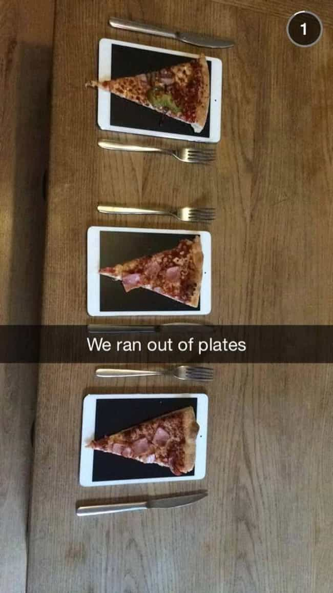 iPlates is listed (or ranked) 4 on the list The Most Annoying Photos Of Rich Kids On Snapchat