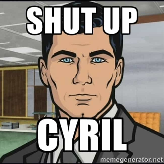 """""""Can we give Lennie the ra... is listed (or ranked) 1 on the list The Best Obscure Jokes and References on Archer"""