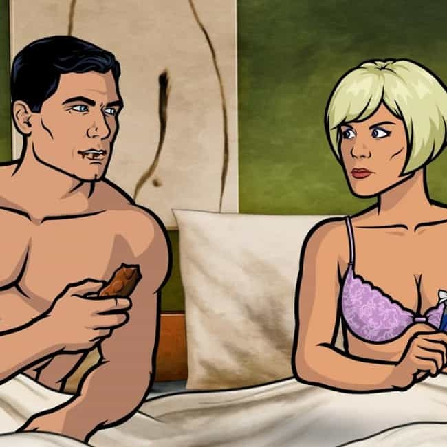 """I'm sorry. I guess... is listed (or ranked) 4 on the list The Best Obscure Jokes and References on Archer"