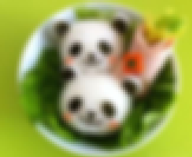 Rosy Cheeked Panda Sushi is listed (or ranked) 2 on the list The Most Awesome Sushi Art That You'll See All Day