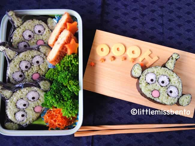 Alien Invaders Sushi is listed (or ranked) 4 on the list The Most Awesome Sushi Art That You'll See All Day