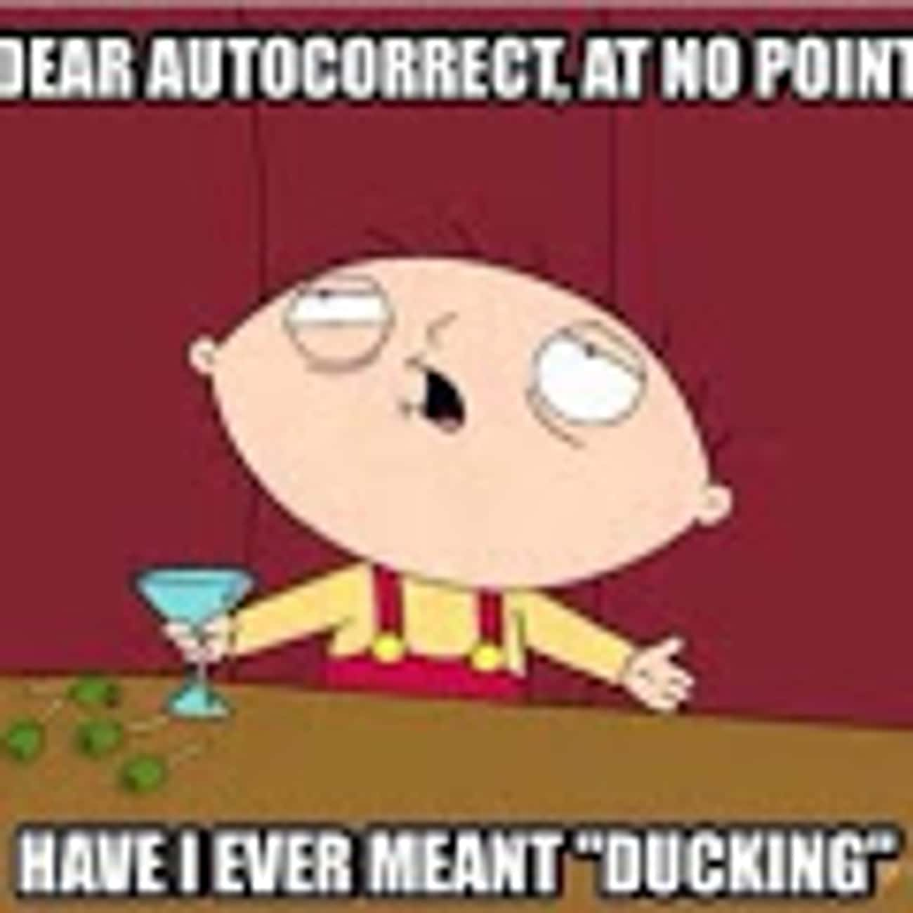 Bird is the word is listed (or ranked) 2 on the list The Best Family Guy Memes of All Time