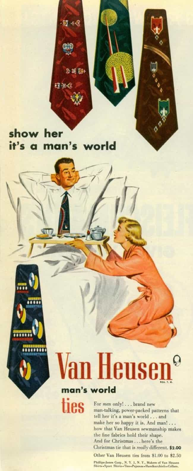 How May I Serve You, Master? is listed (or ranked) 4 on the list Vintage Ads That Are Offensively Sexist