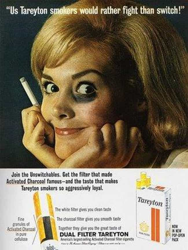 Women Love Cigarettes Enough t... is listed (or ranked) 3 on the list Vintage Smoking Ads They'd Never Get Away with These Days