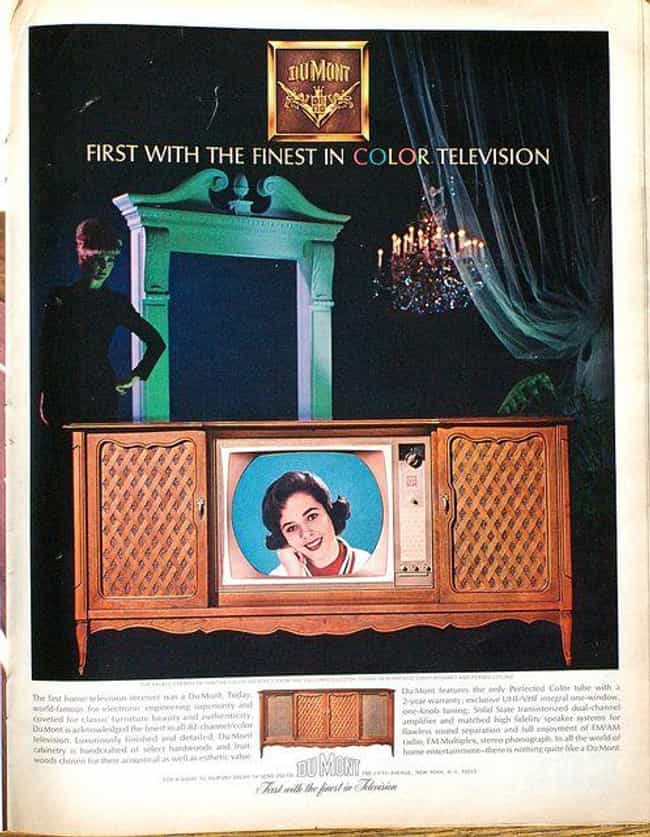 Color Television is listed (or ranked) 2 on the list 13 Inventions That Betty White Is Older Than