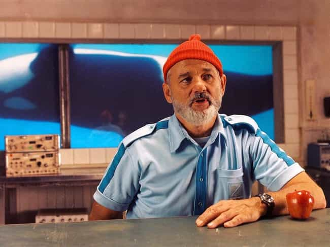 Bill Murray Took Diving ... is listed (or ranked) 4 on the list 18 Amazing Easter Eggs in Wes Anderson Films