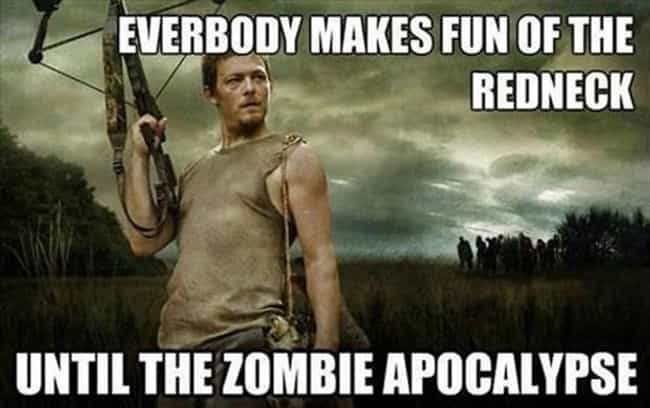 The wilder warriors are ... is listed (or ranked) 1 on the list The Best Walking Dead Memes on the Internet