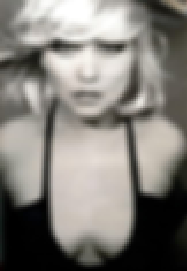 Posing with mouth slightly ope... is listed (or ranked) 3 on the list The Hottest Deborah Harry Photos