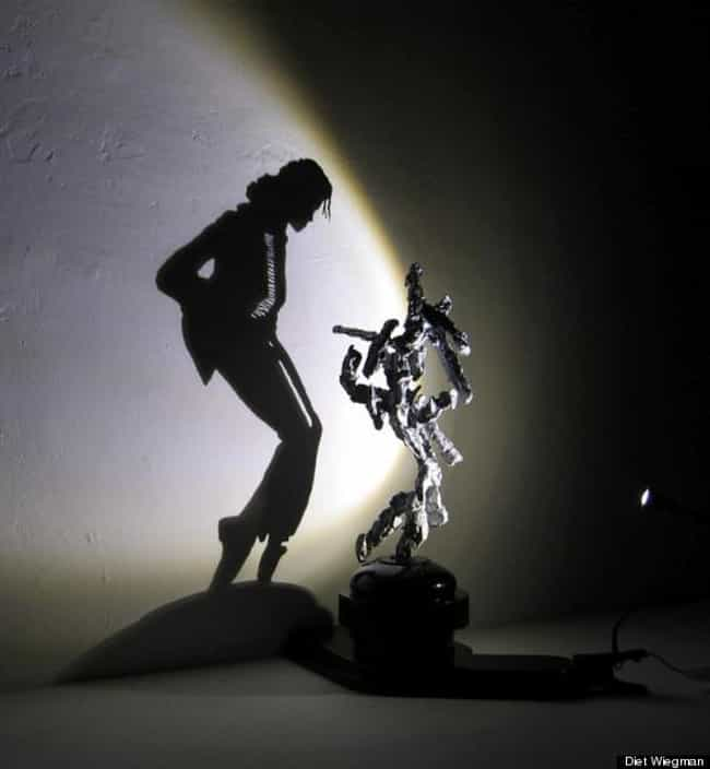 Shadow Michael Jackson B... is listed (or ranked) 1 on the list 37 Seriously Amazing Pieces of Shadow Art