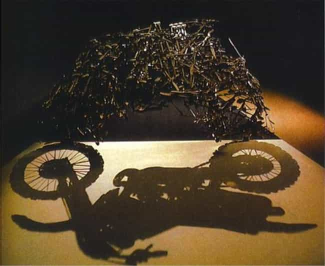 Sick Shadow Bike, Bro is listed (or ranked) 3 on the list 37 Seriously Amazing Pieces of Shadow Art