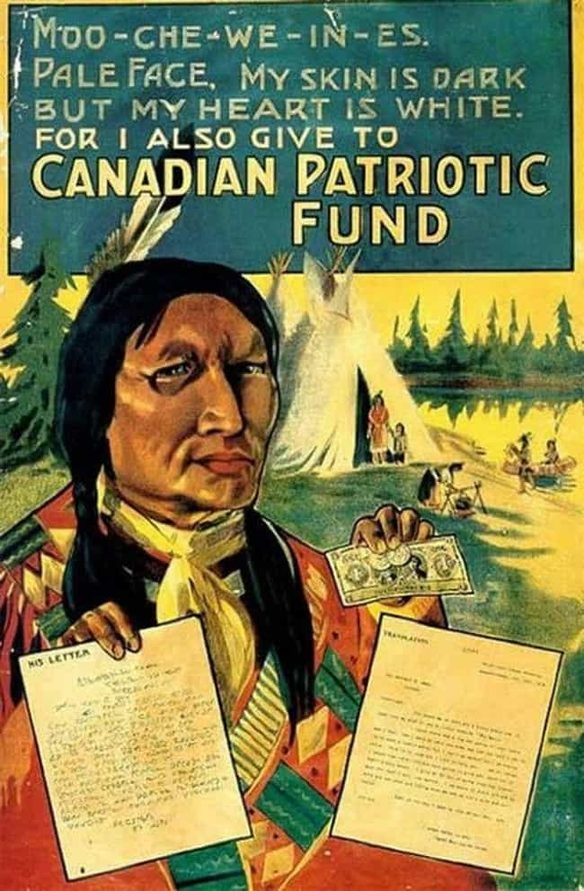 Canadian Patriotic Fund is listed (or ranked) 1 on the list Vintage Ads That Are Horribly Racist