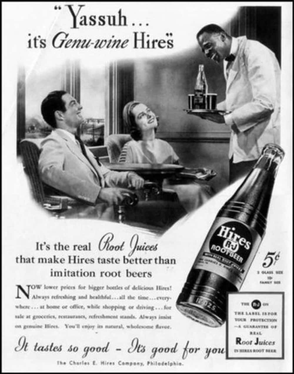 Yassuh, It's Genu-Wine Racism! is listed (or ranked) 19 on the list Vintage Ads That Are Horribly Racist