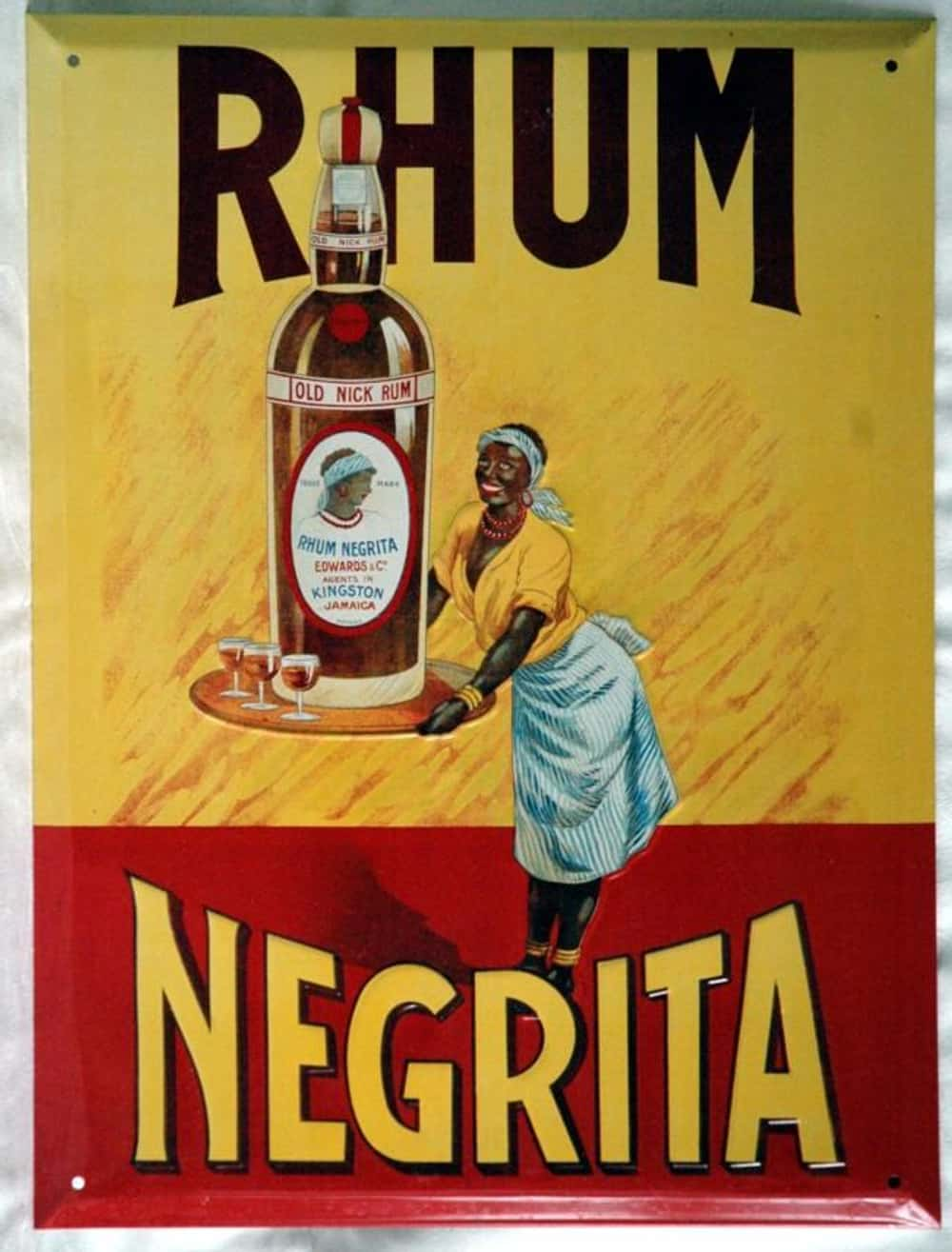 That Is One Racist Giant Bottl is listed (or ranked) 35 on the list Vintage Ads That Are Horribly Racist