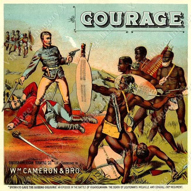 Ah, Yes, it Takes Great Courag is listed (or ranked) 32 on the list Vintage Ads That Are Horribly Racist
