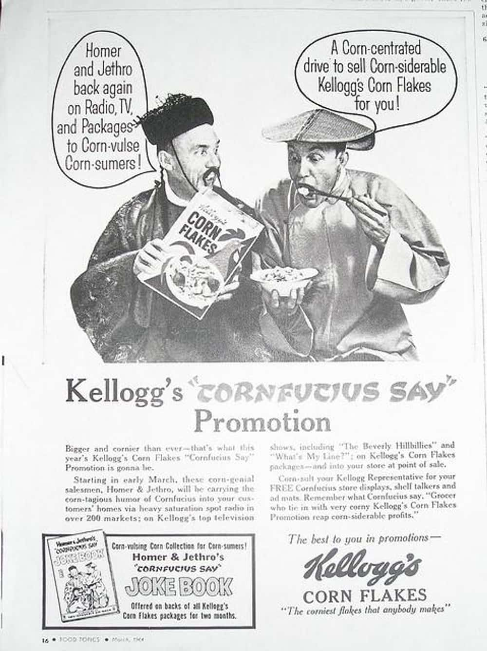 Confucius Say, OMG! This Is So is listed (or ranked) 29 on the list Vintage Ads That Are Horribly Racist