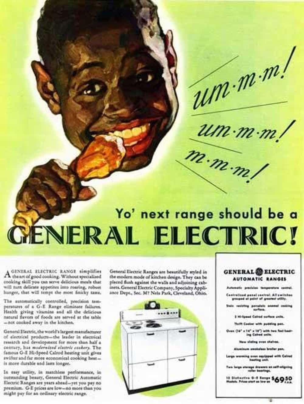 What Is Even Happening Here? is listed (or ranked) 21 on the list Vintage Ads That Are Horribly Racist