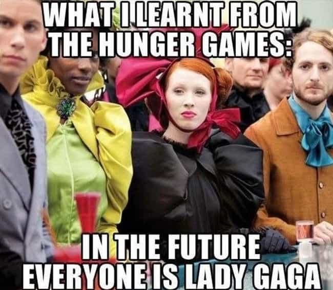 Science fiction or stunted fas... is listed (or ranked) 1 on the list The Best Hunger Games Memes